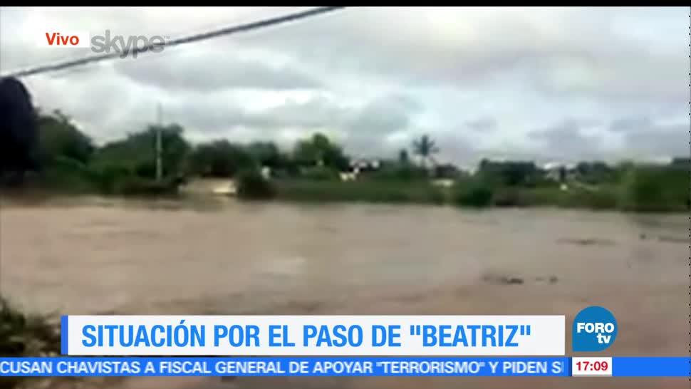 Oaxaca, recibió, 48 horas, toda, lluvia, recibe año