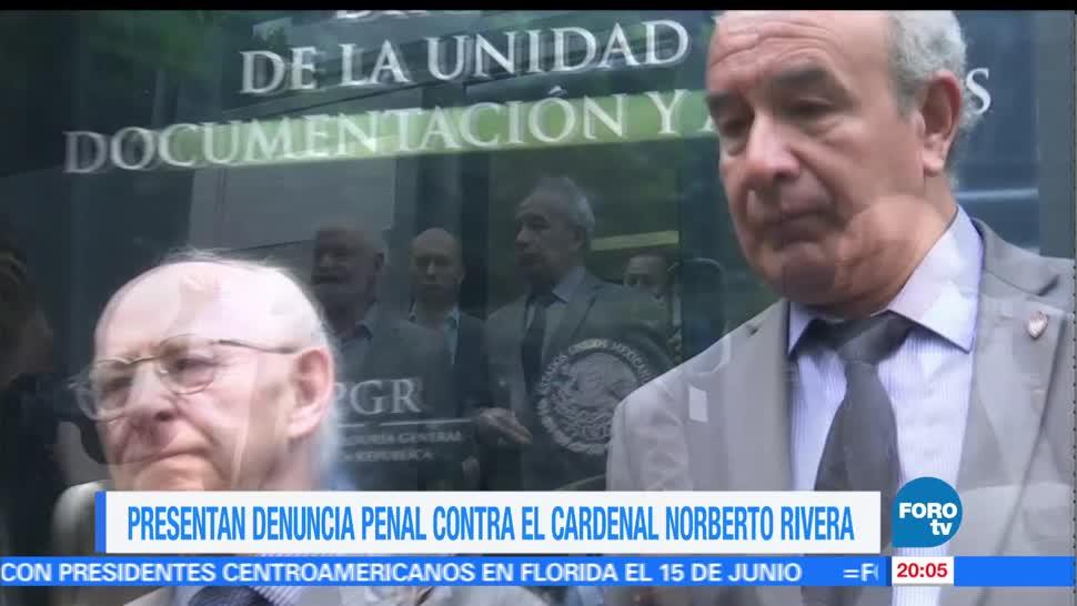 noticias, forotv, Presentan, denuncia penal, cardenal, Norberto Rivera
