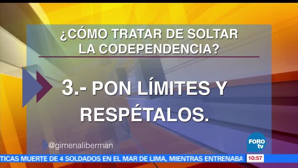 Gimena Liberman, Codependencia, coach de vida, consejos