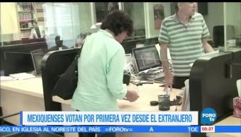 primera vez, mexiquenses, votan, exterior elegir gobernador, votaciones, extranjero