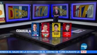 Guillermo Anaya, Miguel Ángel Riquelme, Mary Guajardo, Armando Guadiana, Javier Guerrero, Luis Salinas