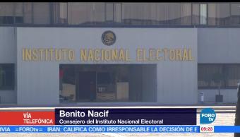 Benito Nacif, consejero, Instituto Nacional Electoral, voto, Estado de México