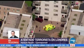 terror en Londres, hombres atropellaron, camioneta, civiles,