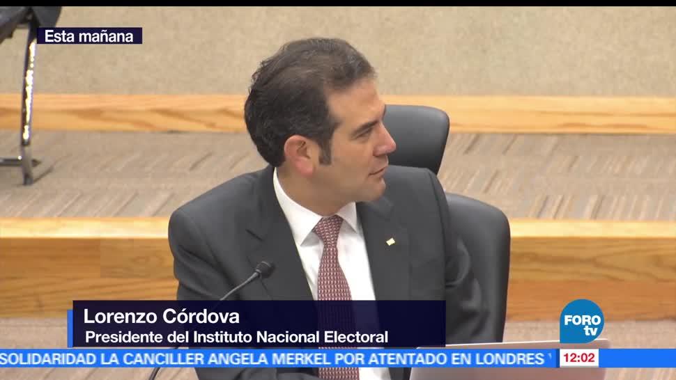 Lorenzo Córdova, presidente del INE, ciudadanos, Edomex, Coahuila, Nayarit