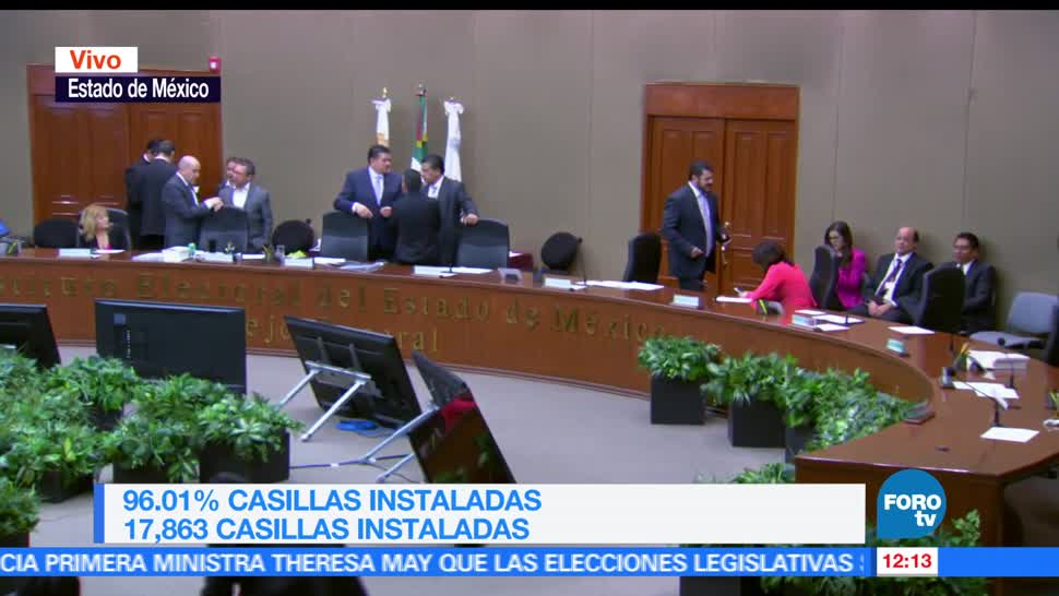 Estado de México, incidentes, instalación de casillas, casillas especiales