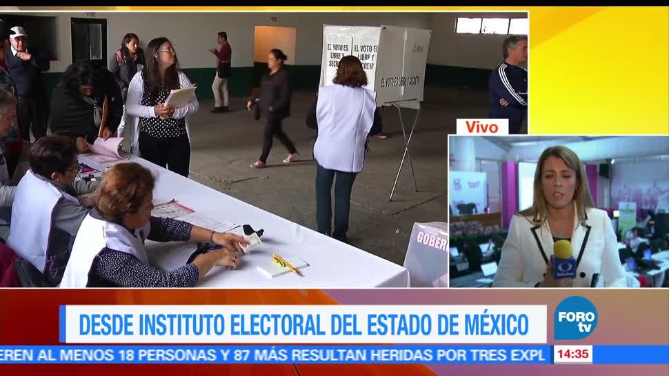 noticias, forotv, instalan, 100, casillas, Estado de México