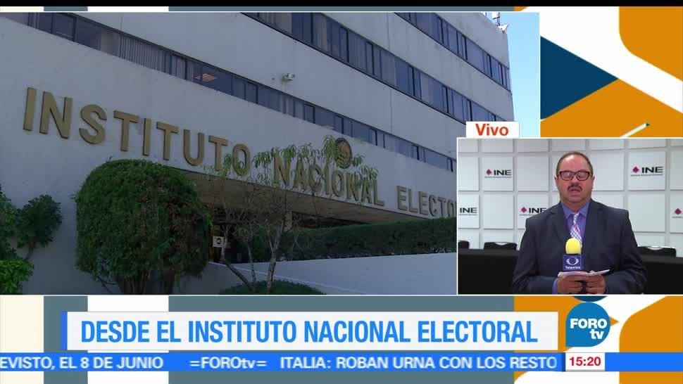 noticias, forotv, INE, reporta,casillas instaladas, elecciones