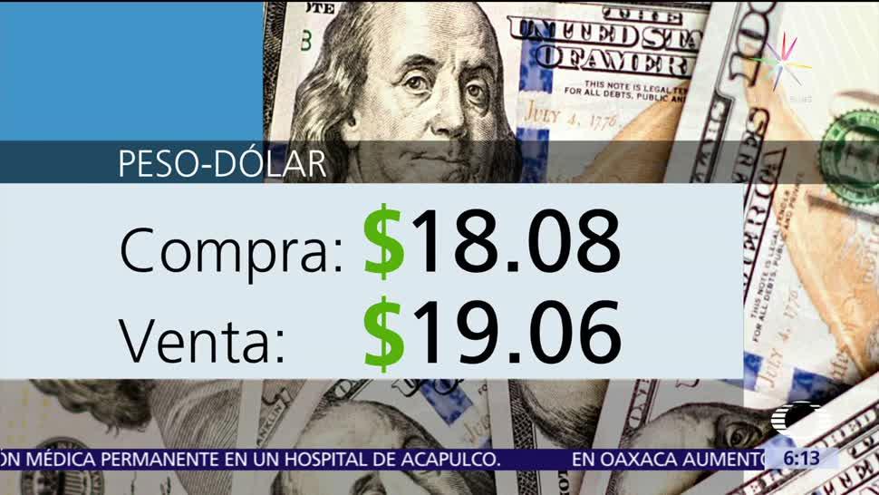 noticias, televisa, Dólar, vende, 19.06, El dólar se cotizó