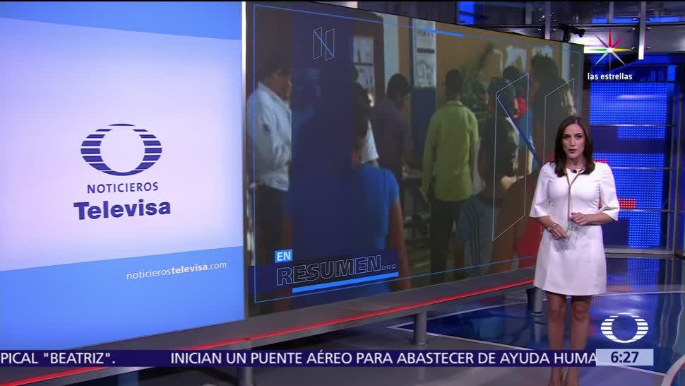 noticias, televisa, Las Noticias, Danielle Dithurbide, Programa, 5 de junio de 2017