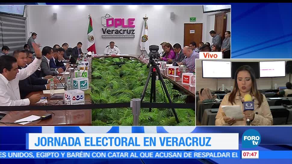 noticias, forotv, Definidas, ldistribución, 112 alcaldías, Veracruz