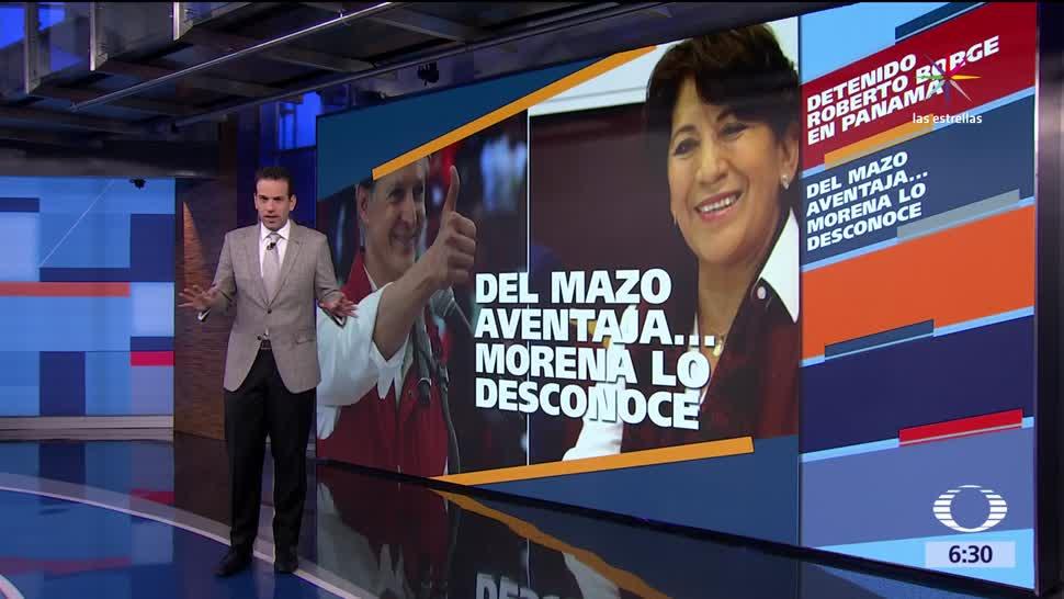Delfina Gómez, Alfredo del Mazo, Enrique Ochoa, Ricardo Anaya, Alejandra Barrales, Margarita Zavala