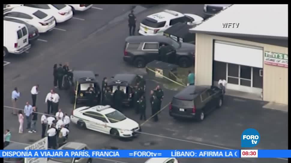 tiroteo en zona industrial, Orlando, Estados Unidos, Policía, muertos