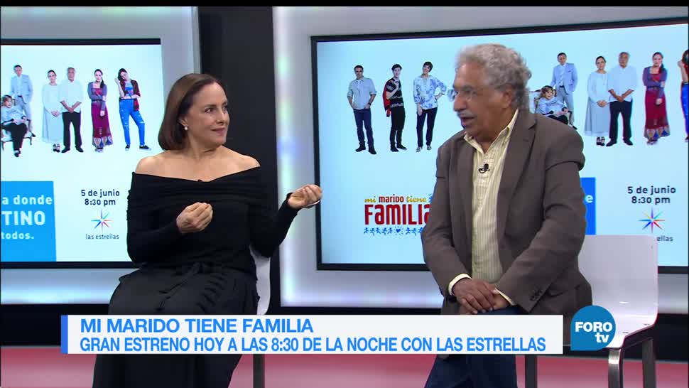 actores, Diana Bracho, Rafael Inclán, Mi marido tiene familia, Las Estrellas