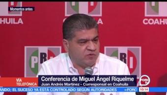 Miguel Riquelme, candidato del PRI, gobierno de Coahuila, Coahuila, triunfador