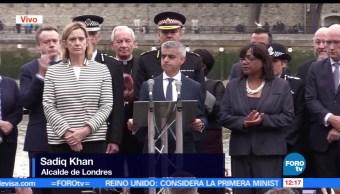 Sadiq Khan, alcalde de Londres, víctimas, ataque terrorista