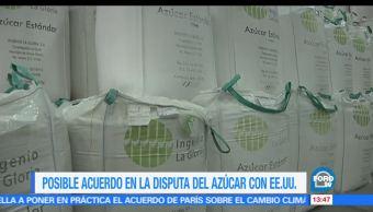 México y Estados Unidos EU, acuerdo, azúcar