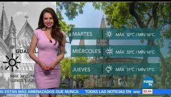 noticias, forotv,El clima, Mayte Carranco, clima, lluvias