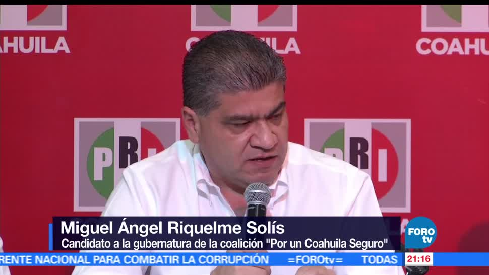 noticias, forotv, Ángel Riquelme, afirma, triunfo, irrefutable en Coahuila