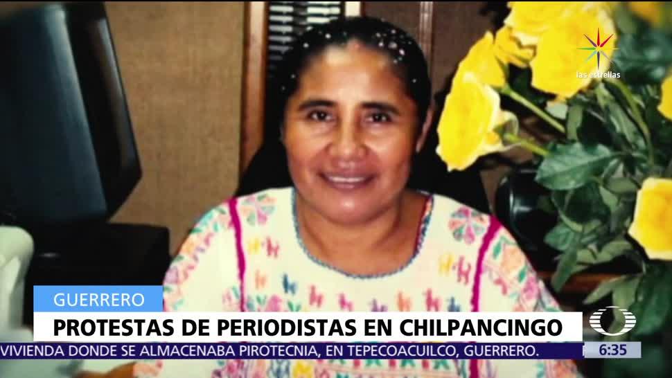 Marcela de Jesús Natalio, locutora de radio, Guerrero, estado grave