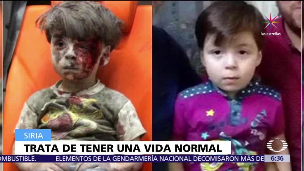 Omran Daqneesh, niño sirio, bombardeo en Alepo, guerra