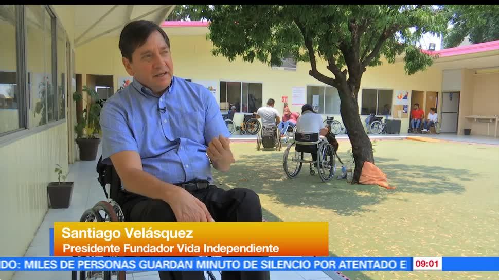 Héctor Alonso, Instituto para la Integración, Desarrollo de las Personas, Personas con Discapacidad, Ciudad de México