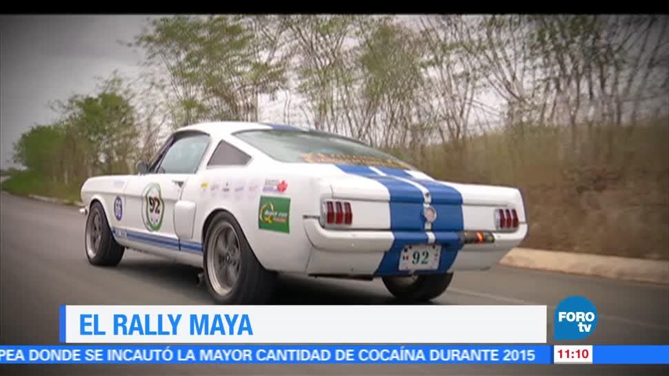 Eduardo Saint Martin, reportaje, Rally, Maya