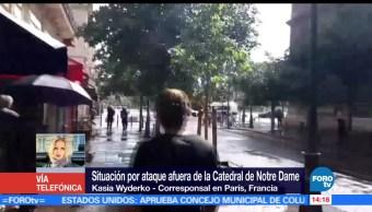 Autoridades, francesas, incidente, Notre Dame