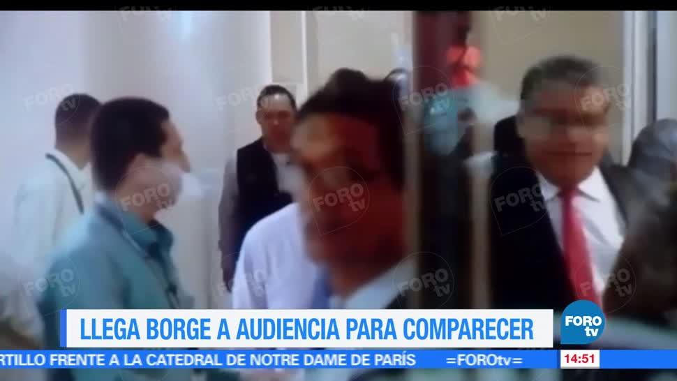 Roberto Borge, ex gobernador de Quintan Roo, audiencia, Panamá