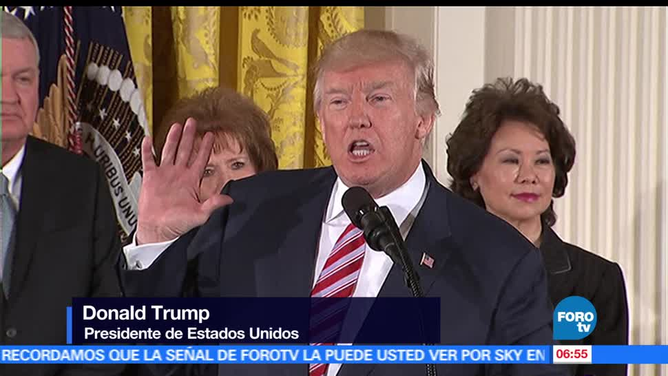 Trump, privatizar, tráfico aéreo, Estados Unidos