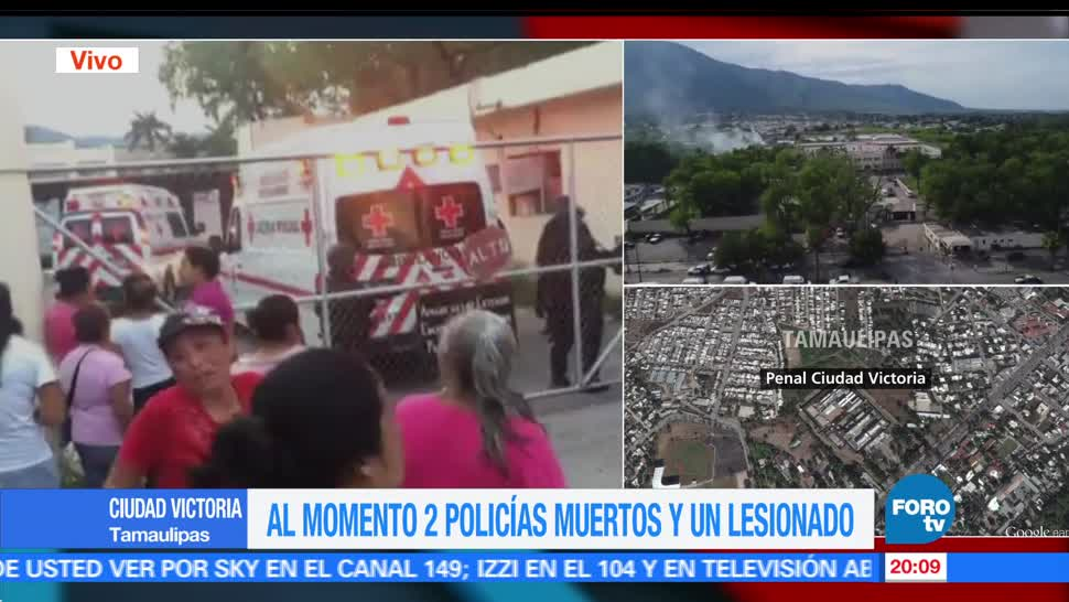 noticias, forotv, Ambulancias, Cruz Roja Mexicana, ingresan, penal de Tamaulipas