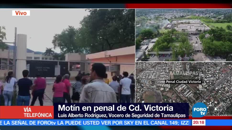 noticias, forotv, Cuatro muertos, seis heridos, balacera, penal de Tamaulipas