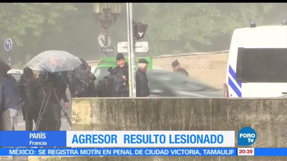 noticias, forotv, Hombre, ataca con martillo, policía, Francia