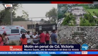 noticias, forotv, Motín, penal, Ciudad Victoria, Tamaulipas