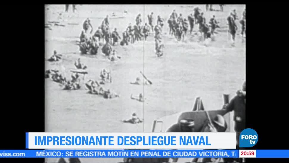 noticias, forotv, Efeméride, Una Hora, Desembarco en Normandía, miles de muertos
