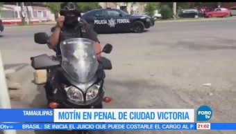 noticias, forotv, Motín, penal, Ciudad Victoria, balacera