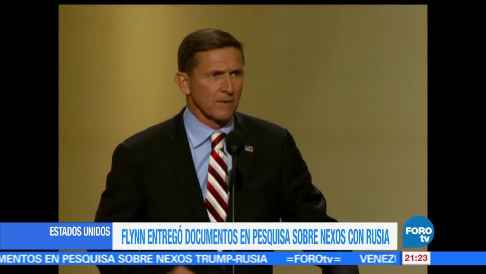 noticias, forotv, Flynn, entrega documentos, caso Rusia, Michael Flynn