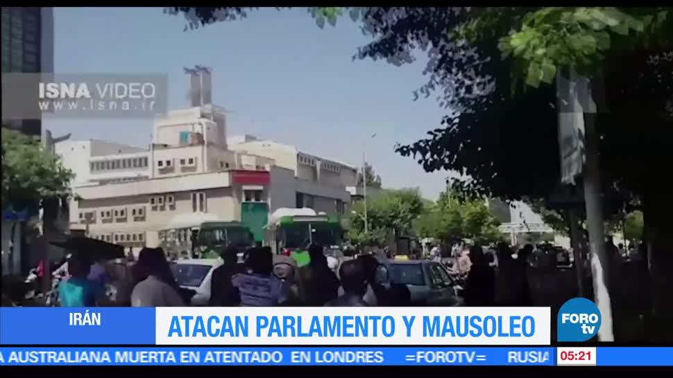 grupo Estado Islámico, Parlamento, mausoleo de Teherán, Irán