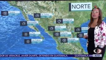 alta presión, ambiente caluros, temperaturas, grados Celsius