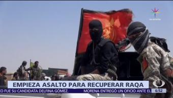 operativo militar, control de Al Raqqa, Siria, Estado Islámico