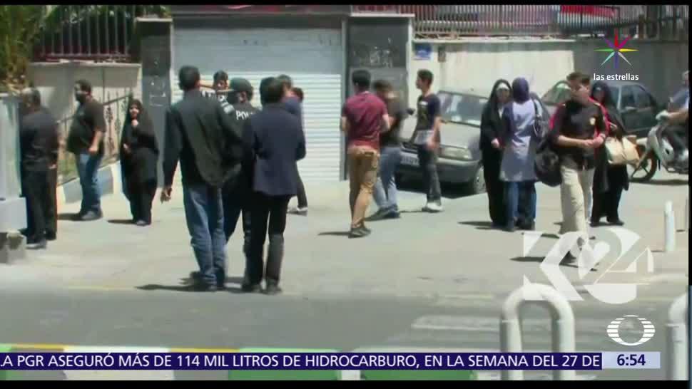 Ataques terroristas, capital, Irán, tiroteo, Mausoleo del imán Jomenei