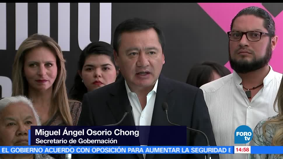 noticias, forotv, Osorio Chong, encabeza, reunión nacional, secretarios de Seguridad Pública