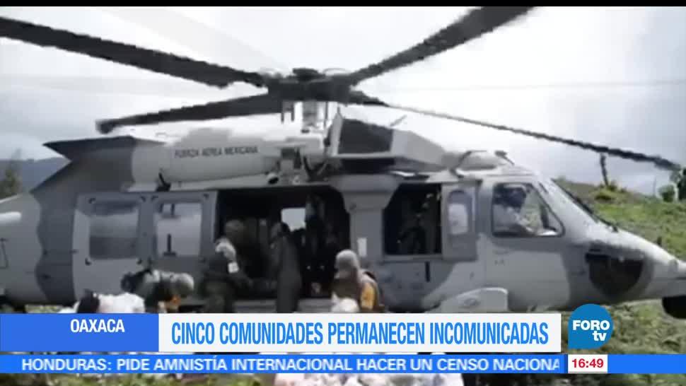 noticias, forotv, Poblaciones, incomunicadas, Beatriz, Oaxaca