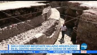 Hallazgo, arqueológico, CDMX, inah, templo mayor, cancha