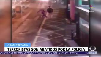 Video capta momento, atacantes de Londres, acuchilla, hombre