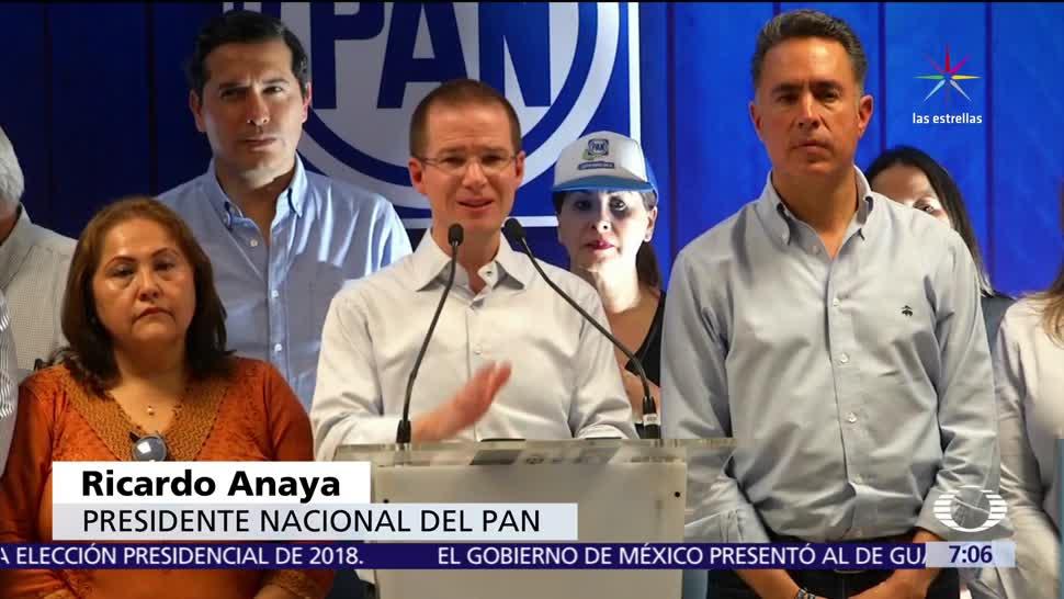 Guillermo Anaya, candidato del PAN, elección, gobernador en Coahuila