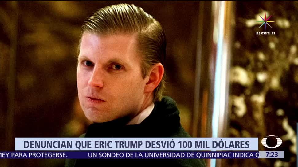 revista Forbes, Eric Trump, Fundación Trump, cáncer infantil