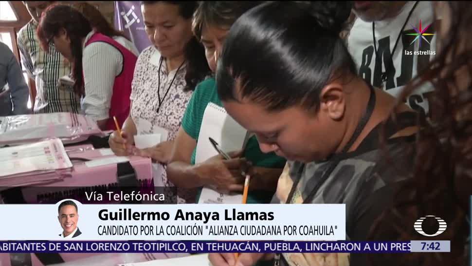 Guillermo Anaya, candidato, Alianza Ciudadana, Coahuila, Despierta con Loret