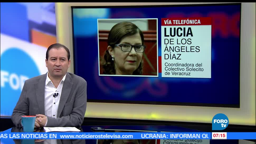 Lucía de los Ángeles Díaz, Colectivo Solecito, Veracruz, fosa clandestina