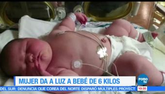 mujer, bebé, seis kilos, Florida, Estados Unidos