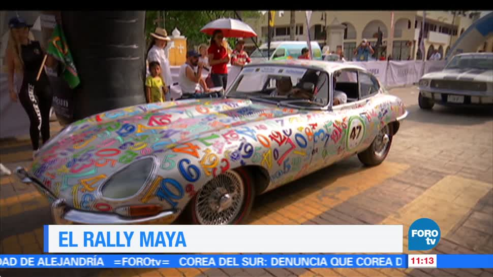 Eduardo Saint Martin, reportaje, Rally Maya, segunda parte